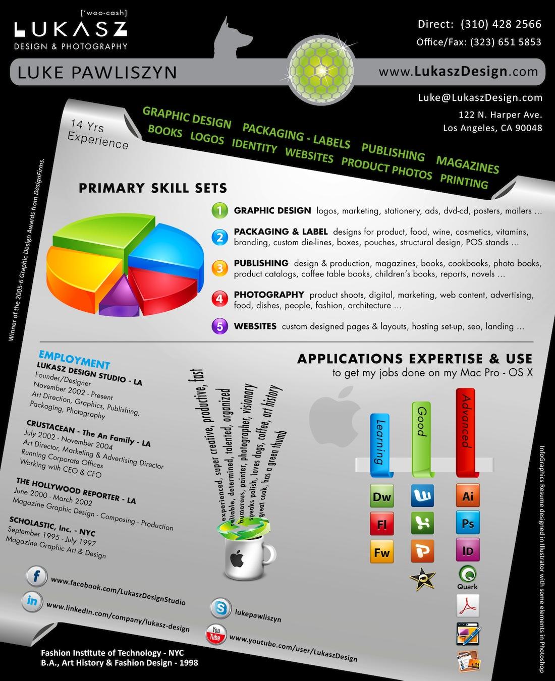 25 examples of super creative resume design
